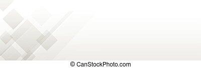 ベクトル, パノラマである, 白い背景, ライン, 波状