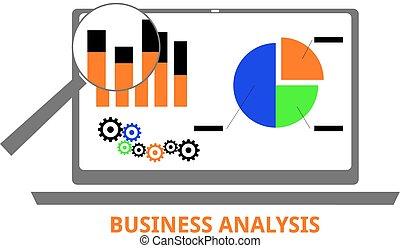 ベクトル, -, ビジネス, 分析