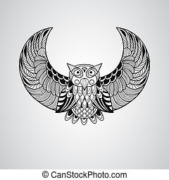 ベクトル, フクロウ