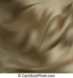 ベクトル, ブラウン, 抽象的, 絹, 手ざわり