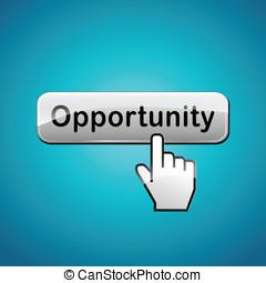 ベクトル, ボタン, 概念, 機会