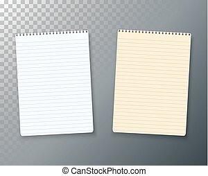ベクトル, メモ用紙, ノート, テンプレート