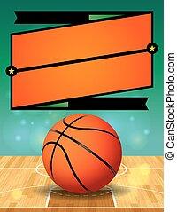 ベクトル, リーグ, バスケットボール, フライヤ