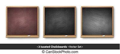 ベクトル, 三角定規, 黒板, イラスト