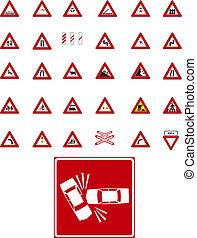 ベクトル, 交通標識