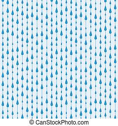 ベクトル, 低下, 雨, 背景
