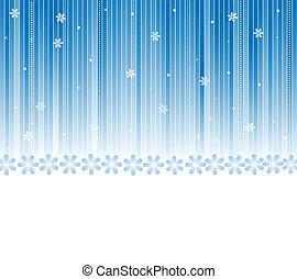 ベクトル, 冬, 背景