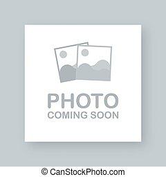 ベクトル, 到来, soon., 映像, 写真, frame., イラスト, 株