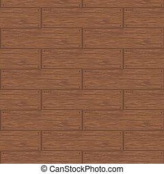 ベクトル, 古い, パターン, seamless, イラスト, desk., 木