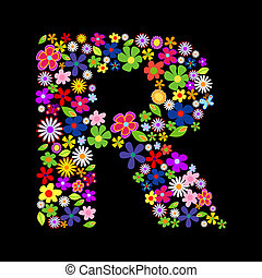 ベクトル, 壷, 花
