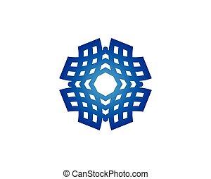 ベクトル, 太陽エネルギー, ロゴ