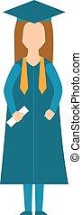 ベクトル, 学校, 概念, 知識, 人々, 成功した, 大学, 卒業, 生徒, infographic, 大学教育, ∥あるいは∥