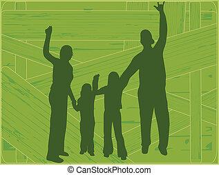 ベクトル, -, 家族, プロフィール