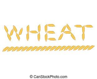 ベクトル, 小麦