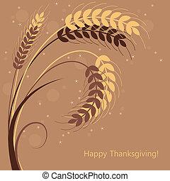 ベクトル, 小麦, 耳