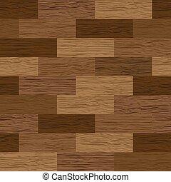 ベクトル, 床, 寄せ木張りの床, 手ざわり, seamless