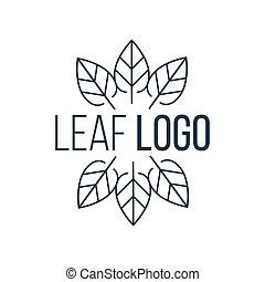 ベクトル, 庭, 概念, アイコン, 自然, 抽象的, 6, 隔離された, icon., バックグラウンド。, 白, エコロジー, イラスト, 葉, ロゴ, 円, 植物, logo., デザイン, 風景, design.