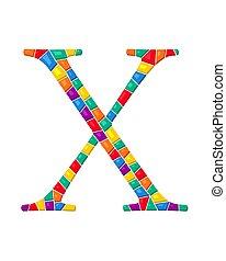 ベクトル, 手紙 x, モザイク