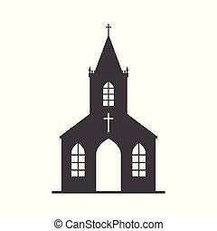 ベクトル, 教会, アイコン