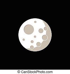 ベクトル, 月