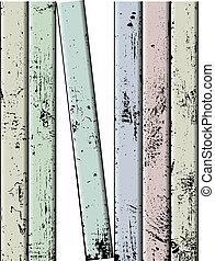 ベクトル, 有色人種, フェンス