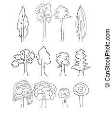 ベクトル, 木, コレクション