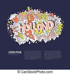 ベクトル, 概念, オランダ
