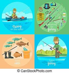 ベクトル, 概念, 釣り