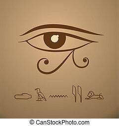 ベクトル, 目, horus
