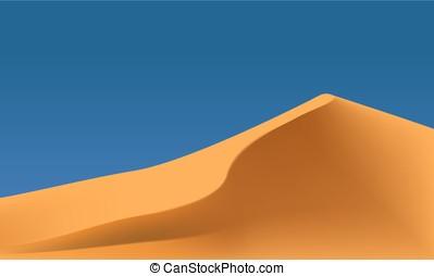 ベクトル, 砂漠