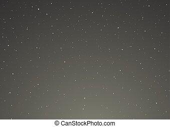 ベクトル, 空, 夜