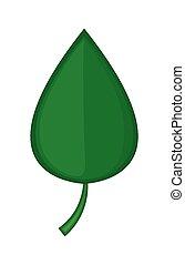 ベクトル, 緑の葉