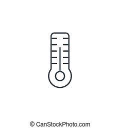 ベクトル, 線である, シンボル, ∥あるいは∥, 装置, 天候, 温度計, 薄くなりなさい, 薬, icon., 線