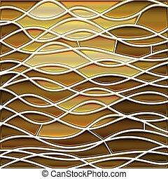 ベクトル, 背景, ステンドグラス, 抽象的, モザイク
