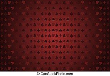 ベクトル, 背景, ポーカー