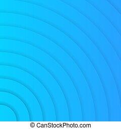 ベクトル, 背景, 円, 青