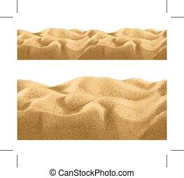 ベクトル, 背景, seamless, 砂