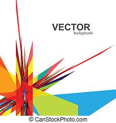 ベクトル, 虹, 抽象的, 技術, 創造的, カラフルである, デザイン