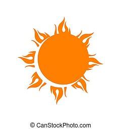 ベクトル, 要素, 黄色, ロゴ, 爆発, 星, アイコン, 太陽, 日光, イラスト, シンボル