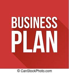 ベクトル, 計画, ビジネス 印