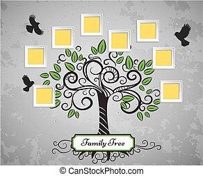 ベクトル, 記憶, 木