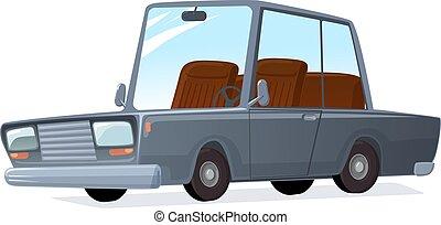 ベクトル, 車。, 漫画