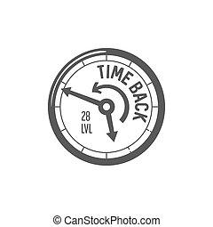 ベクトル, 速度計, アイコン