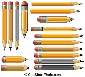 ベクトル, 鉛筆
