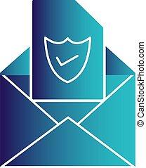 ベクトル, 電子メール, アイコン