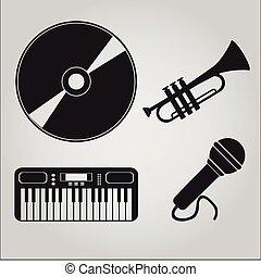 ベクトル, 音楽