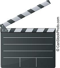 ベクトル, clapper., 映画館