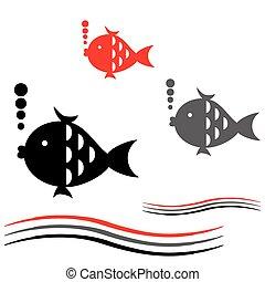 ベクトル, fish