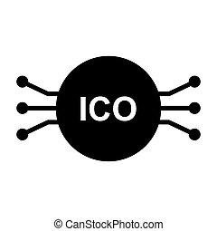 ベクトル, ico, icon., 96x96, pictogram, 単純である, 最小である