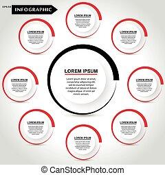 ベクトル, infographic